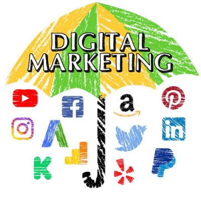 All the platforms under the umbrella of digital marketing